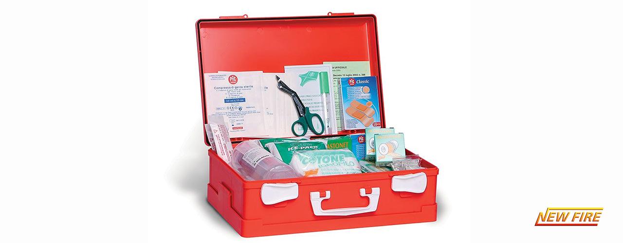 Cassette di primo soccorso
